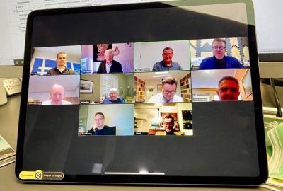 Members of the Global Flooring Alliance discuss the outcome of the survey during an online event.