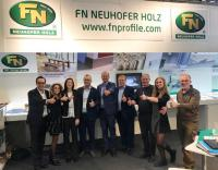 FN Neuhofer Holz presented innovations at the Branchentag Holz